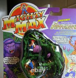 Rare Vintage Mighty Max Doom Zones Ape King Grec Mattel 1993 Nouveau Scellé