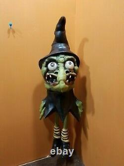 Rare Vintage Pmg Witch Vampire Dracula Caoutchouc Latex Halloween Prop Decor Lot Set