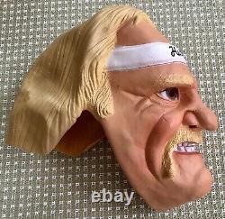 Rare Vintage Wwf Wwe Hulk Hogan Masque Des Années 1980 Fabriqué Par Cesar Mint