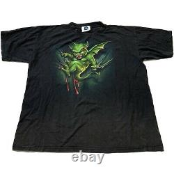 Rare Vtg 90s 1997 Halloween Horror Nights VII T Shirt Hommes XL Universal Studios