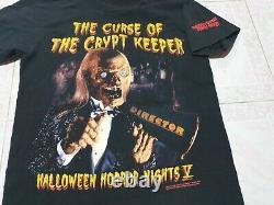 Rares Contes Des Années 90 De La Malédiction Crypt Vintage T Shirt De Crypt Keeper Halloween
