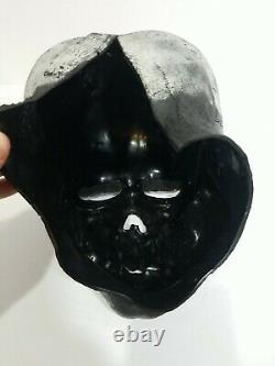 Rayons! Don Post Skull Vintage Masque De Vinyle 70s Grande Forme