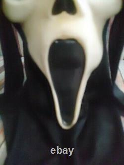 Scream Ghostface Masque Fun World DIV Rare Glow Vintage