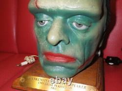Super Rare Frankenstein Président Lampe Monstre Vintage Halloween Horror Utilisé