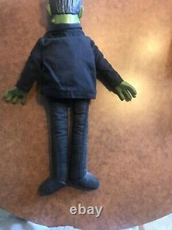 Super Rare Vintage Collectible Herman Munster Doll Par Mattel 1964 Non Talking