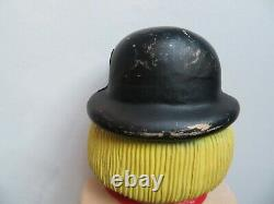 Union Products Halloween Blow Mold-1987 Épouvantail-rare Variation De Couleur-vintage