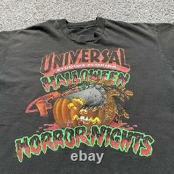 Universal Studios Vintage 1992 Halloween Horror Nights T- Shirt Rare USA Large