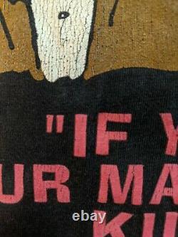 Very Rare Original Marilyn Manson Meet Votre T-shirt Lg Vintage Master Winterland