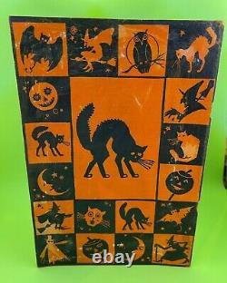 Vieille Décorations D'halloween Bogie Book 1920's Dennison Co. 14e Édition Rare