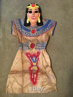 Vintage 1976 Isis Ben Cooper Costume D'halloween Avec Box Euc Costume Extrêmement Rare