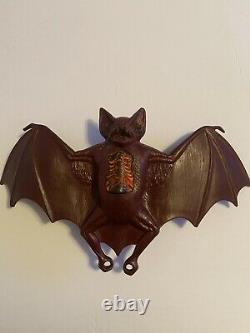 Vintage 1979 Mattel Toys Gre-gory The Vampire Bat Halloween Rare Difficile À Trouver