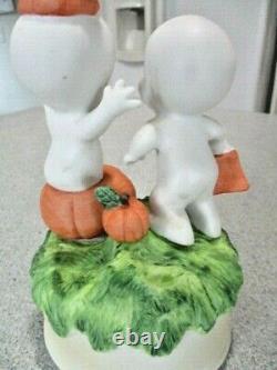 Vintage 1986 Casper The Friendly Ghost Halloween Trick Or Treat Boîte À Musique Rare