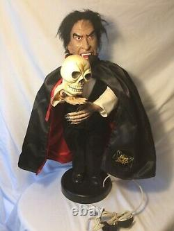 Vintage 1992 Anheiser-busch Budweiser Dracula Halloween Motionette 24 Rare Tang