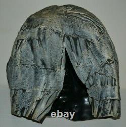 Vintage Authentic 1977 Don Post Monster Mummy Utilisé Rare Masque D'halloween Thick