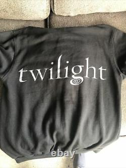 Vintage Authentique Twilight Team Edward Hoodie Small Summit Entertainment Rare