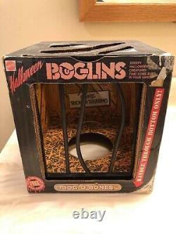 Vintage Boglins Bog O Bones Halloween Rare With Box Années 1980