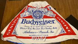 Vintage Budweiser Budman Années 1970 Costume Rare Un D'une Sorte De Collection Halloween