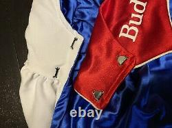 Vintage Budweiser Budman Costume Cape Only 1970s Very Rare Collectible Halloween