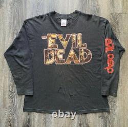 Vintage Evil Dead Long Sleeve Très Rare
