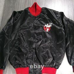 Vintage Ghostbusters II Bomber Jacket 80s Sci-fi Film Promo Halloween Rare