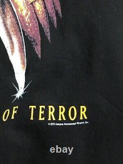 Vintage Halloween 20 Ans Of Terror Film Promo Chemise 1998 XL Rare Orginal
