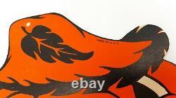 Vintage Halloween Beistle Suspension Épouvantail Original 1940 Années 1960 Rare / Mint