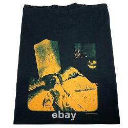 Vintage Halloween Movie T-shirt Rare Années 90 Michael Myers Horror 1998 XL