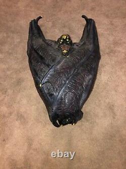 Vintage Latex Bat Halloween Rare Htf Spirit Halloween Morbid Gemmy Prop Détail