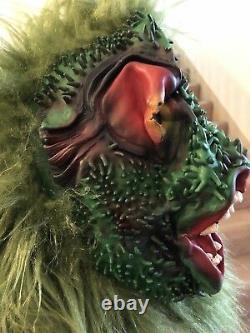 Vintage Mega Rare 1989 Topstone Sea Creature #1054 Merman Latex Halloween Mask