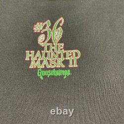 Vintage Rare Og 1995 Goosebumps Haunted Mask #36 Halloween Black T Shirt Sz Xs/s