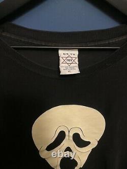 Vintage Scream Film Promo Chemise Taille XL Horreur Halloween Grail 90s Rare