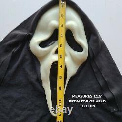 Vintage Scream Ghost Face Masque Fun World DIV Gen 1 Rare Glow Fantastic Faces 90s
