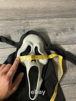 Vintage Scream Ghost Face Masque Fun World DIV Gen Rare Glow Fantastic Faces 90s