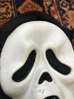 Vintage Scream Ghostface Masque D'halloween Pâques Illimité Mk Rare 90s Horreur