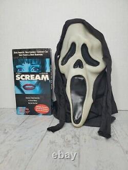 Vintage Scream Ghostface Masque Fun World DIV Gen 1 Rare Glow Fantastic Faces 90s