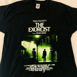 Vintage The Exorcist T Shirt Horror Film Promo Rare Halloween Cult Classic XL