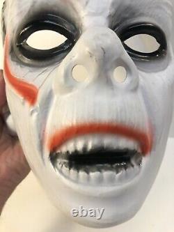 Vintage Topstone Des Années 1960 Ou 70 Grand Masque D'halloween En Plastique Dracula Rare Htf