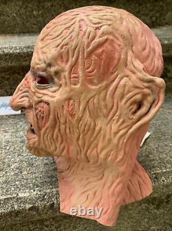 Vtg Original 1986 Nightmare Sur Elm Street Don Post Freddy Krueger Masque Rare 80s