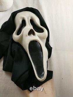 Vtg Scream Fantastic Fears Quelques Faces Ghostface Masque Fun World DIV Glow Rare 90s